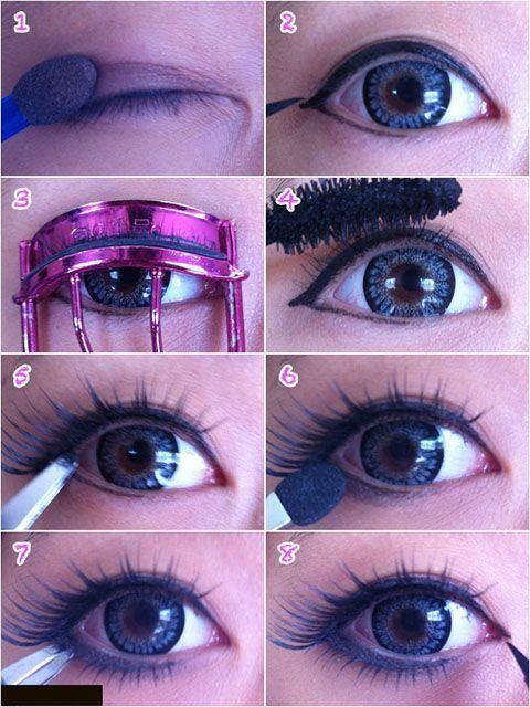 Maquillaje de ojos y cara