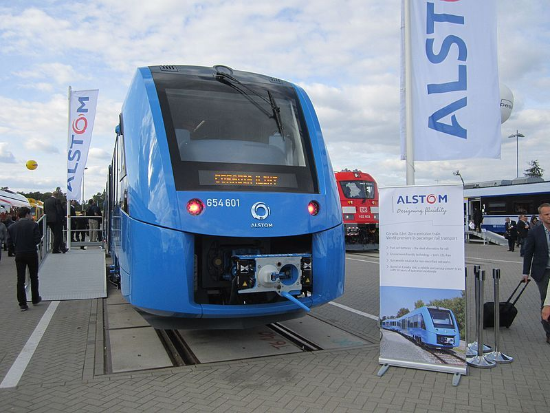 Hydrogen fuel cell trains are coming to british railway as
