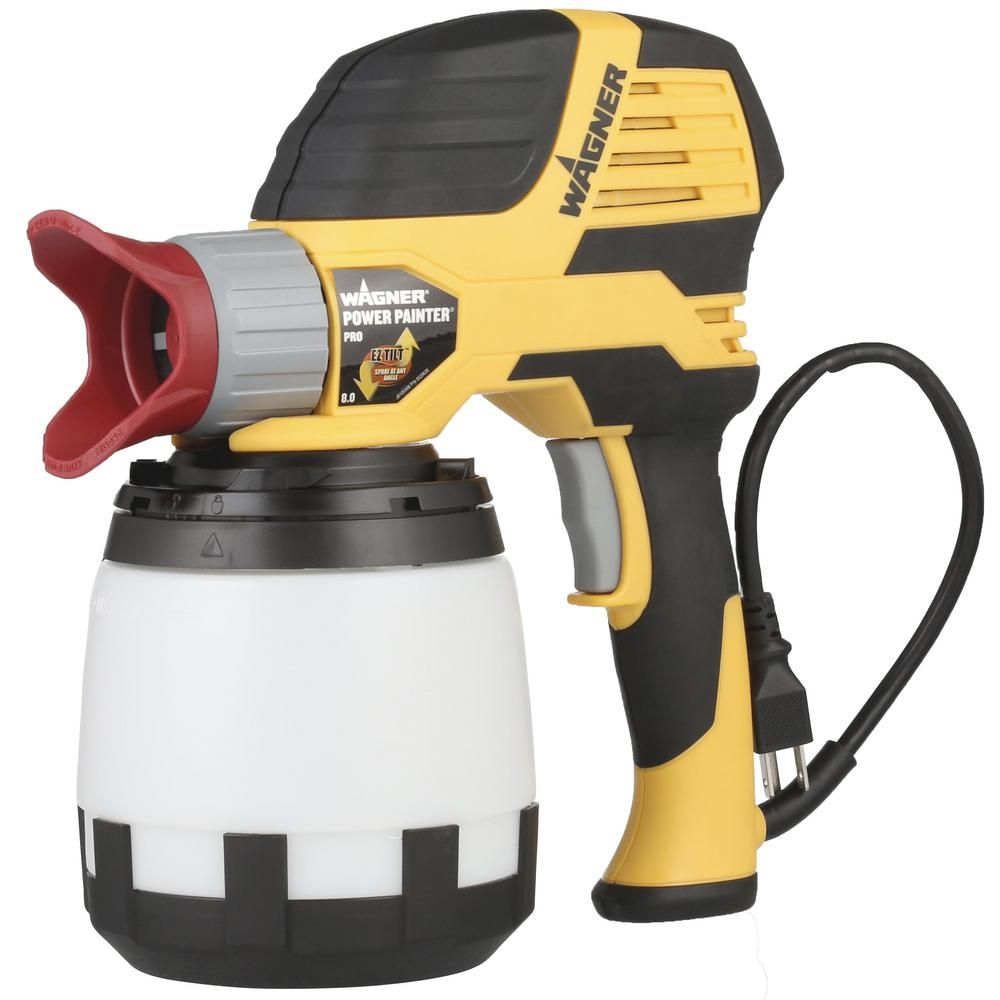 Wagner Power Painter Pro Airless Hand Held Paint Sprayer 0525029 The Home Depot In 2020 Paint Sprayer Sprayers House Painting