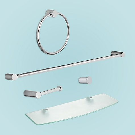 John Lewis Partners Chrome Bathroom Fittings