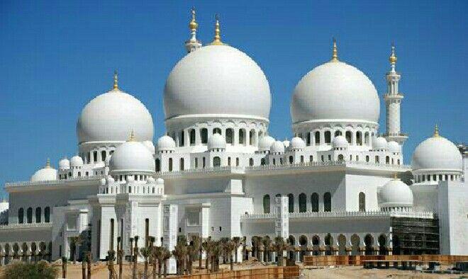 مسجد الشيخ زايد الكبير في أبوظبي Mosque Sheikh Zayed Grand Mosque Abu Dhabi