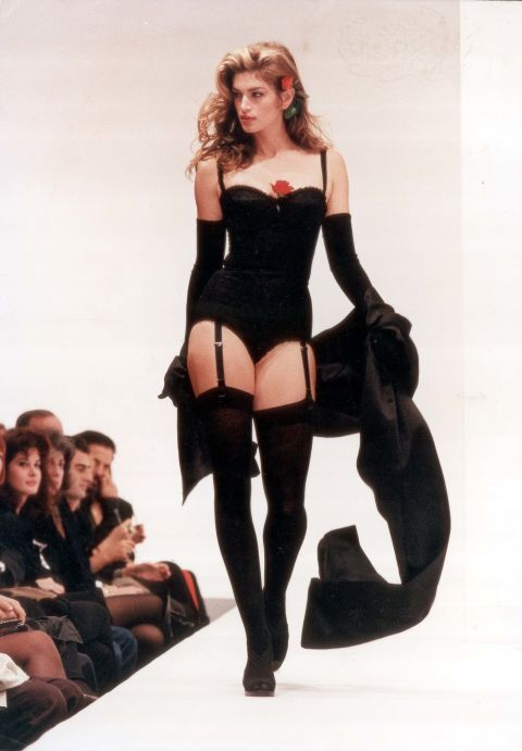 lingerie Cindy crawford