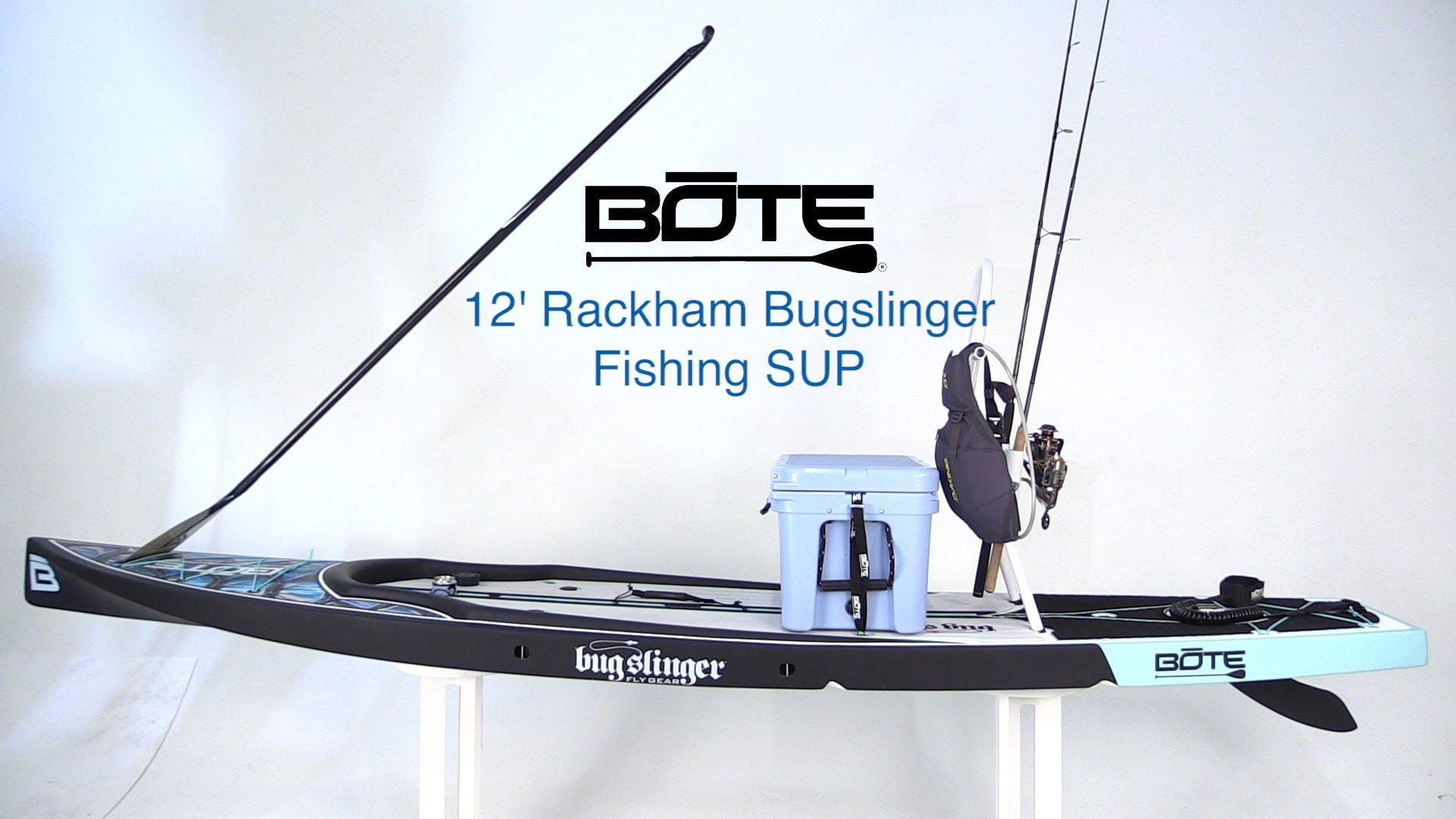 Bote 12 39 rackham bugslinger fishing sup west marine for Paddle board fishing accessories
