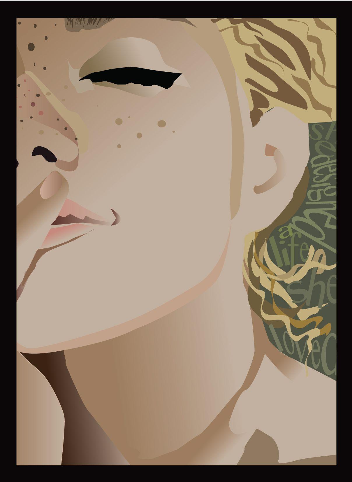 """She designed a life she loved"" original illustration by Kitt Depatie"