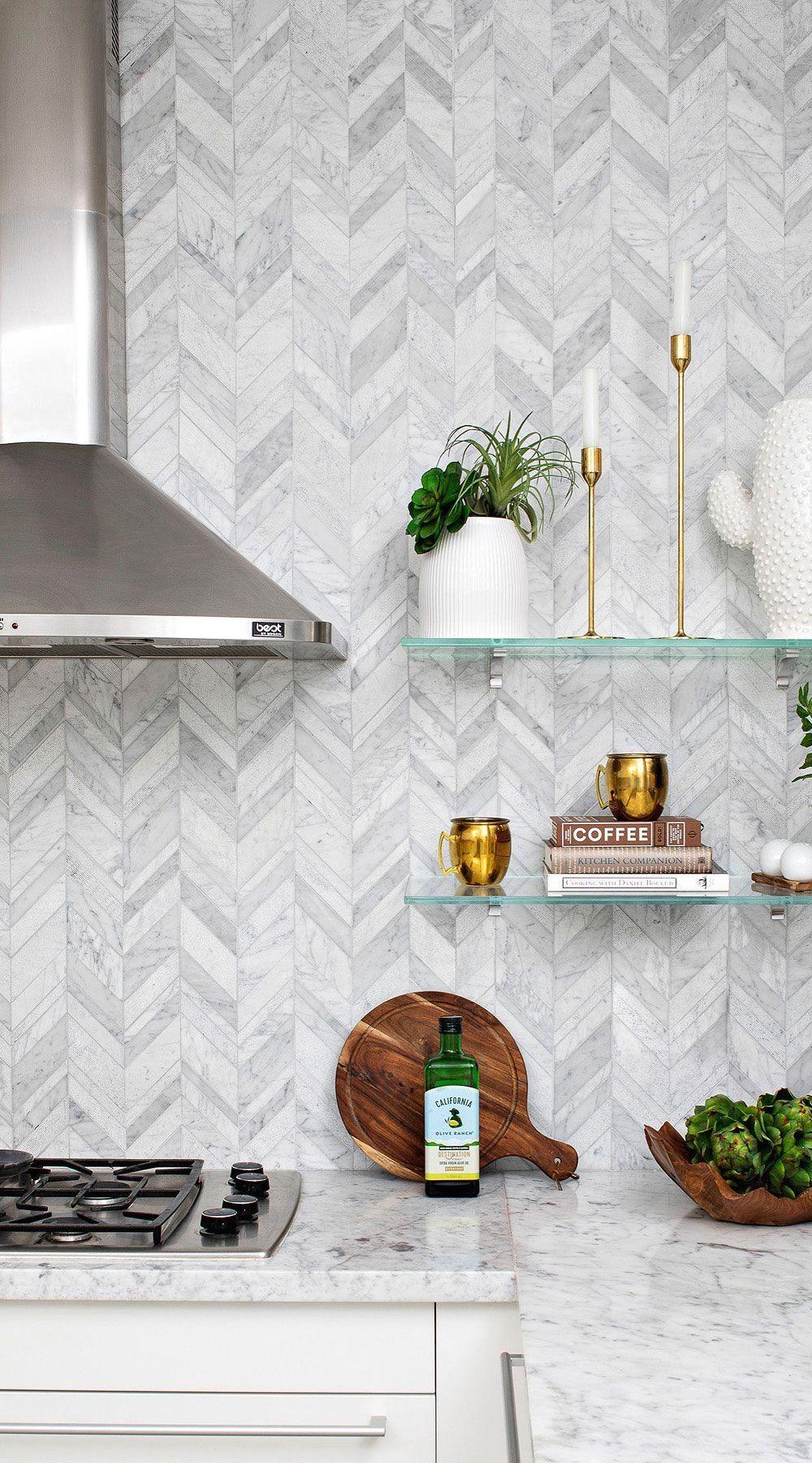 Pin On Brick Backsplash Kitchen