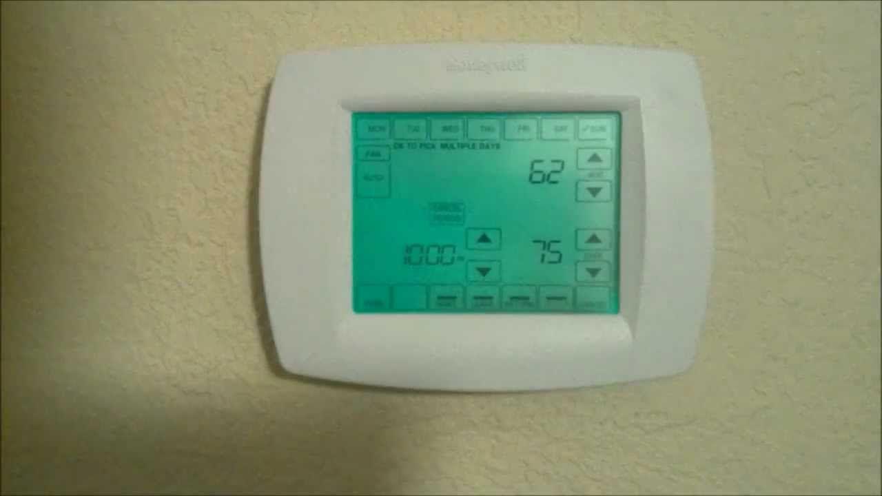 Honeywell Vision Pro Thermostat
