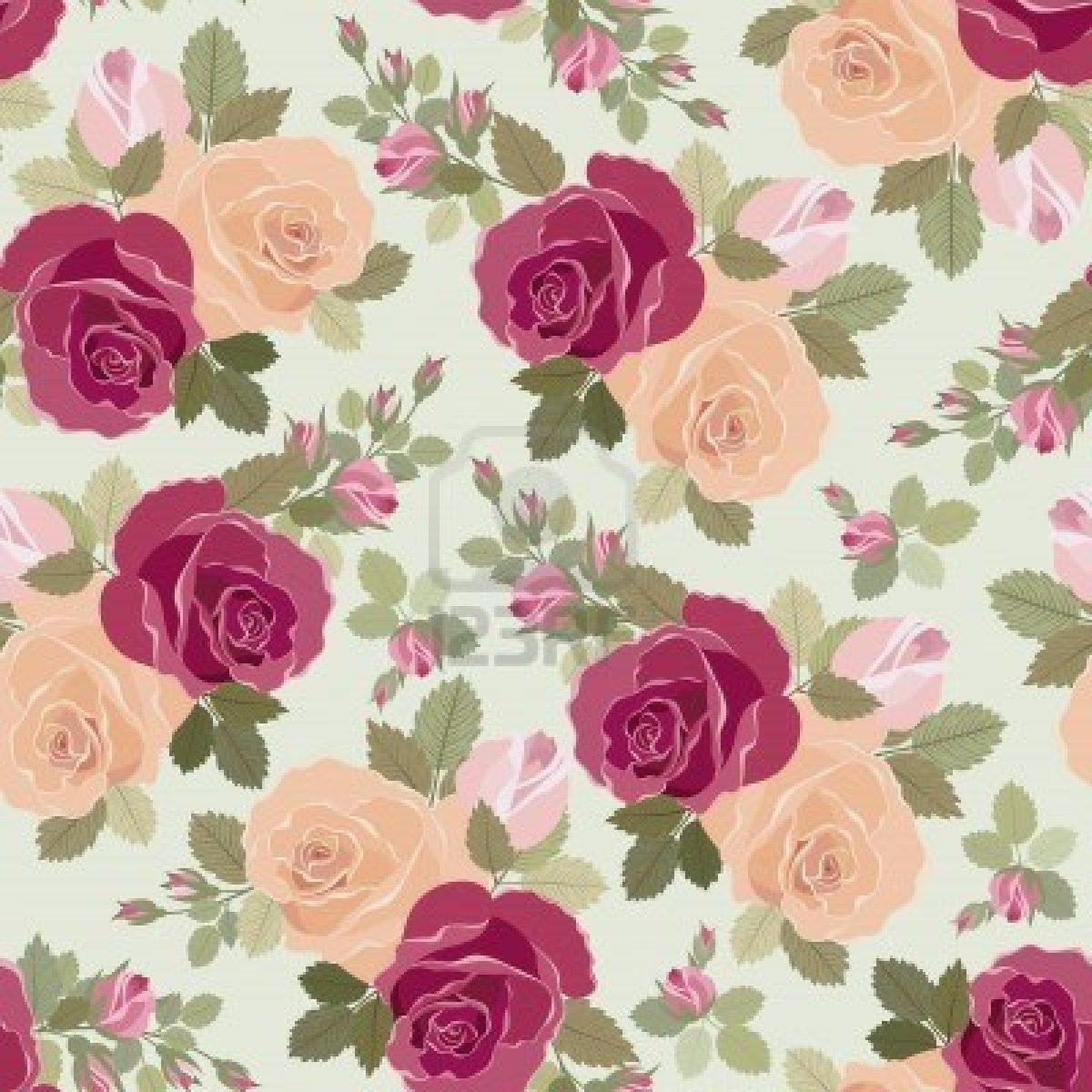 Vintage Wallpaper Background | flower wallpaper Background ...