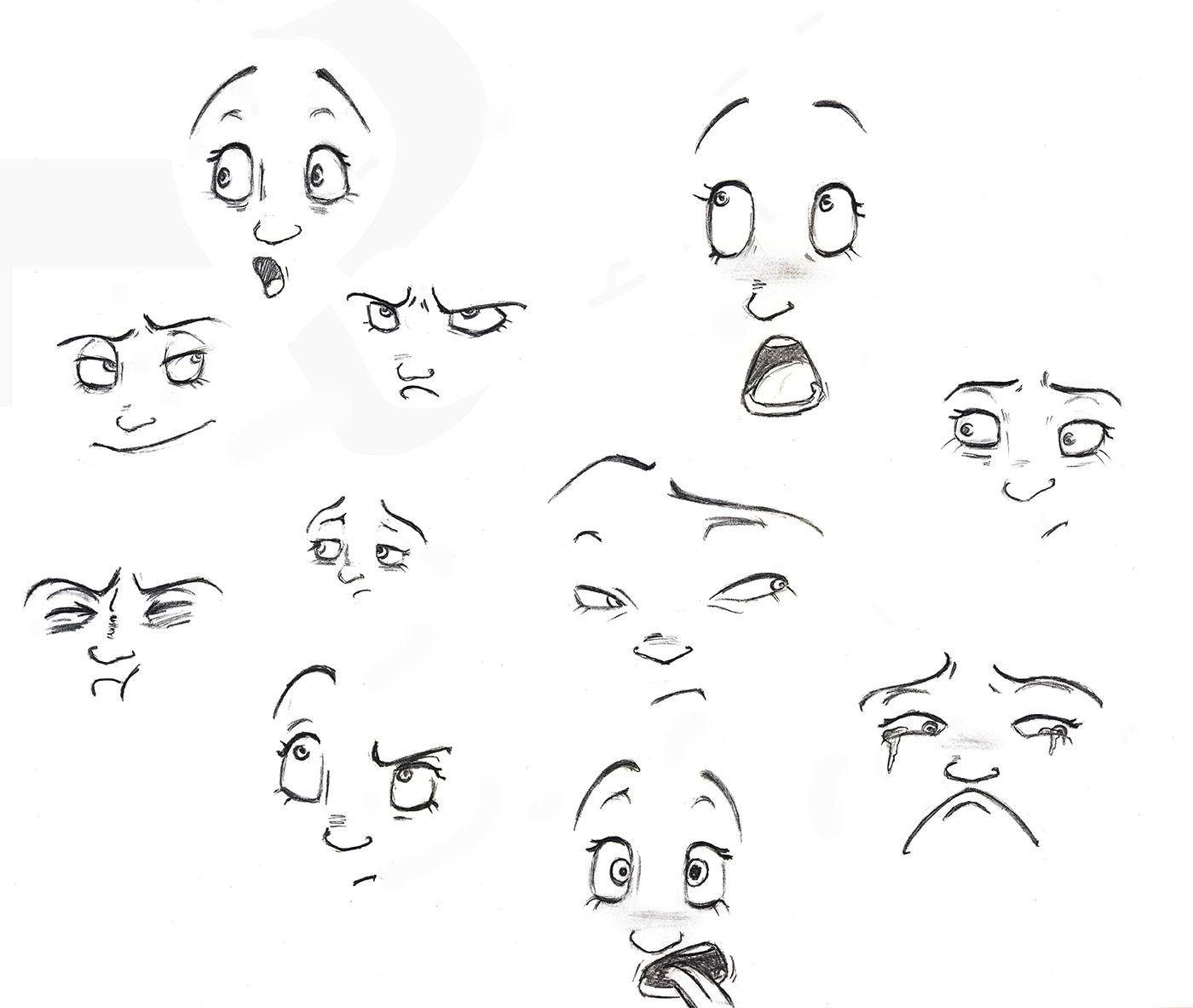 мимика лица рисунок форма плоскоклеточного рака