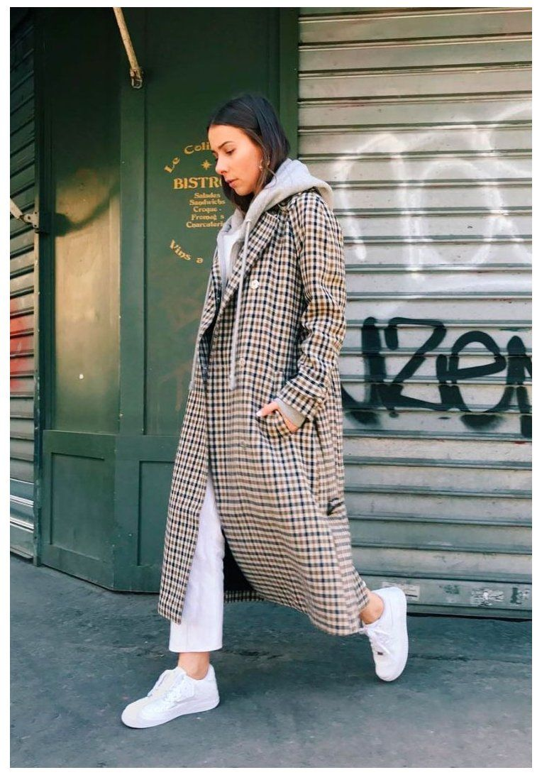 check coat outfit