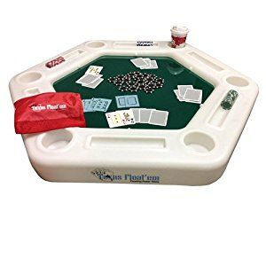 Amazon Com Pool Shot Floating Poker Table Texas Float Em
