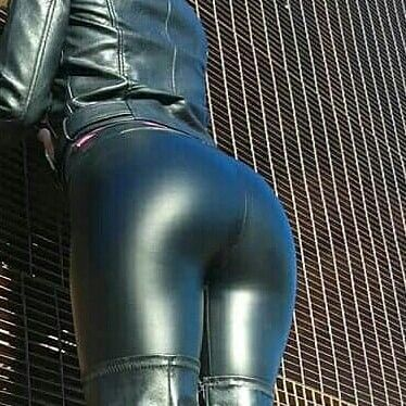 Let's not skin tight leather pants butt apologise
