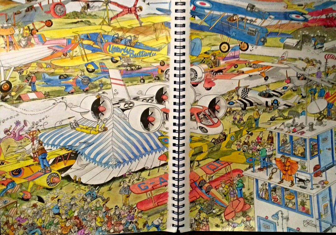 Jan Van Haasteren Colouring Book Made By Melvin Coloring Books Painting Art