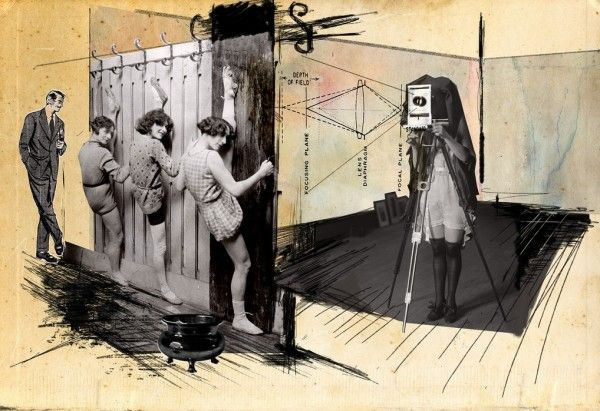 Franz Falckenhaus mixed media collages. 4