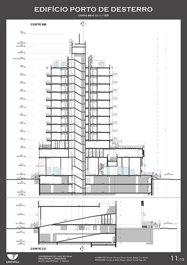 Projeto Edificio Porto De Desterro Florianopolis