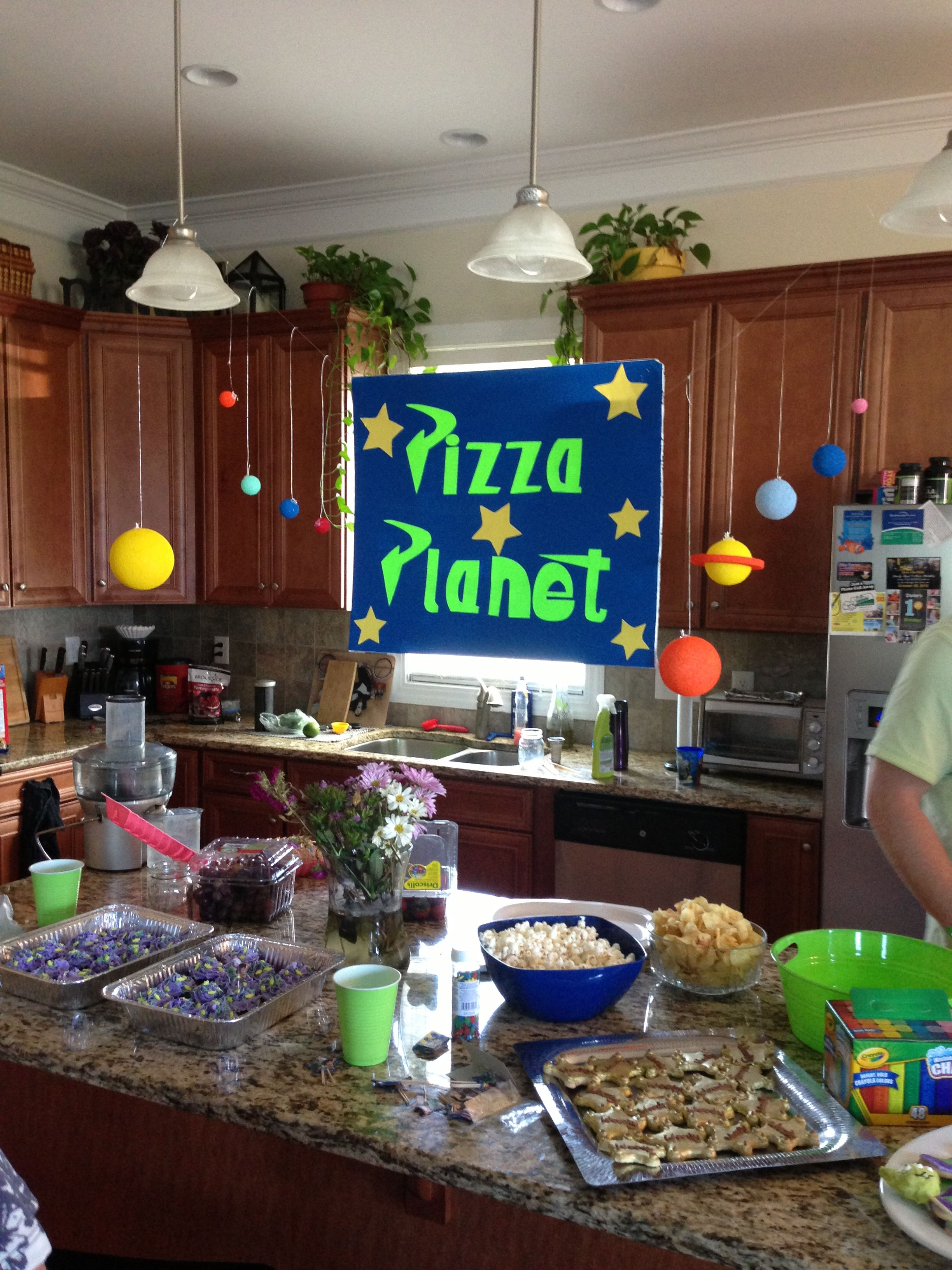 Toy Story Pizza Birthday (With images)