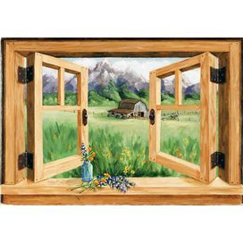 Online Home Store For Furniture Decor Outdoors More Wayfair Faux Window Countryside Art Painting