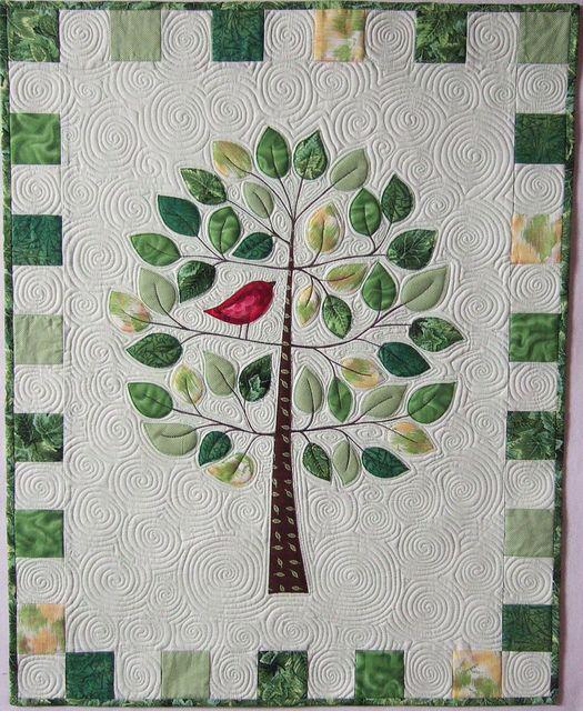 Celebration Of Life Nature Family Tree Quilt Tree