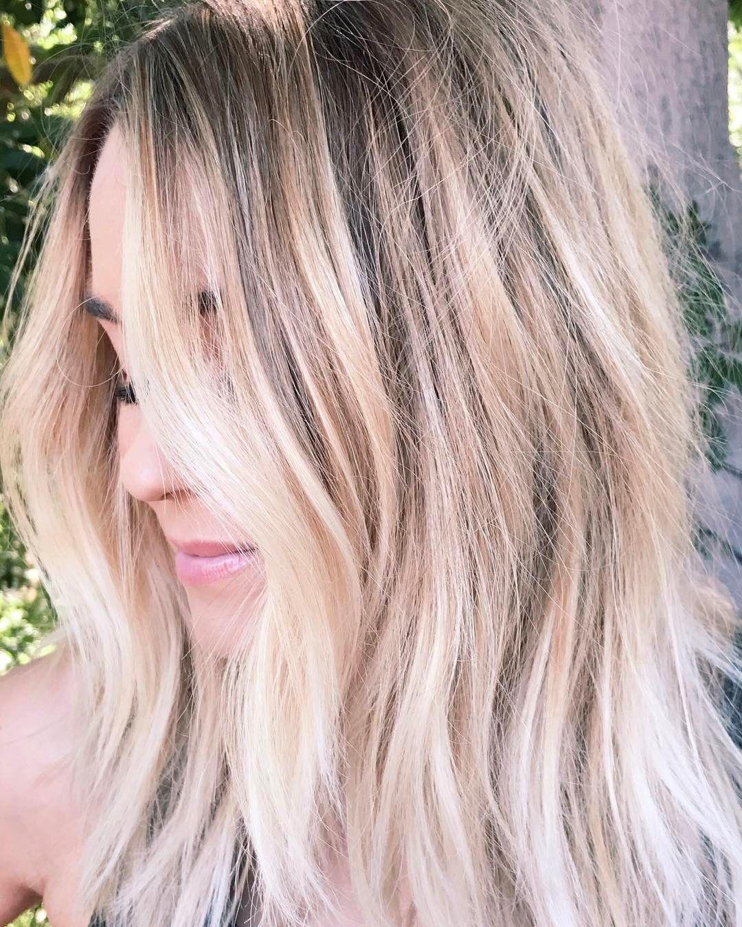 Lauren Conrad Blonde Balayage Hair Blonde Blonde Hair Color Balayage Hair