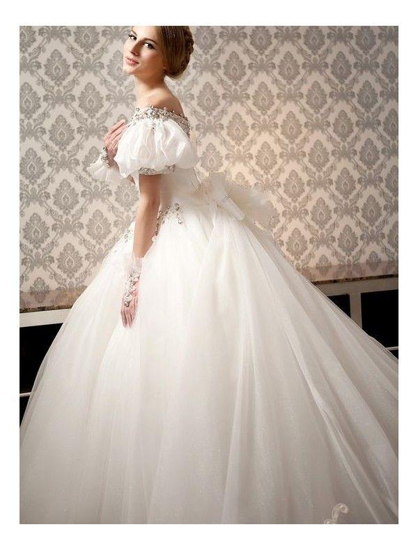 Civil War Style Wedding Dresses - Unique Wedding Ideas