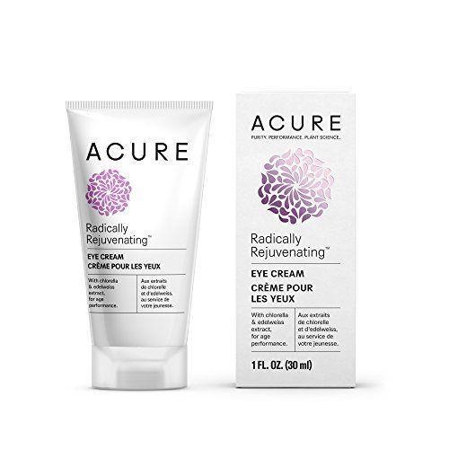 Acure Radically Rejuvenating Eye Cream, 1 Fluid Ounce