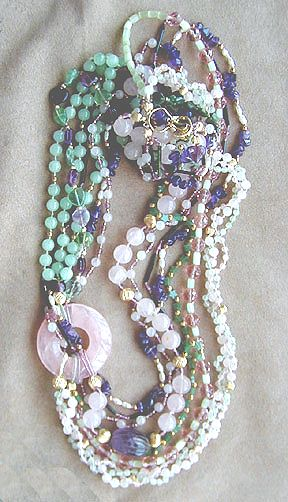 Gemstone Treasure Necklace