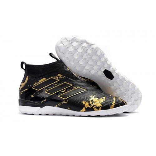 big sale 076ba faabe Adidas ACE Tango 17 Purecontrol IC Inomhus Fotbollsskor Svart Guld Vit