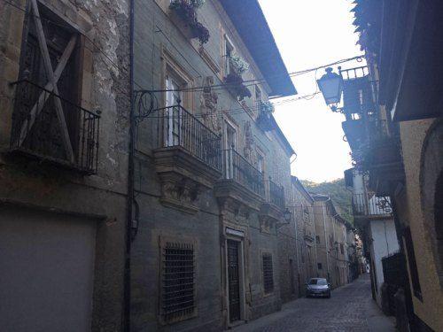 Palacio de los Marqueses de Villafranca en la Calle del Agua de Villafranca del Bierzo