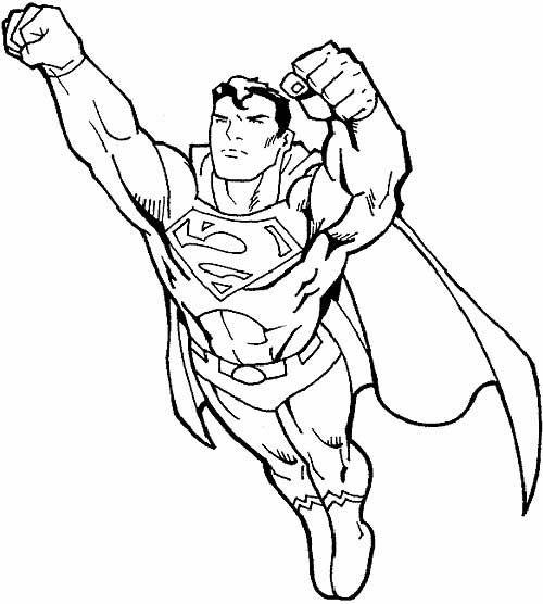 35 Desenhos De Super Herois Para Colorir Em Casa Desenhos De