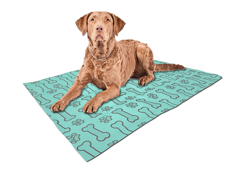 ASPCA AS652BLUE Chevron Reversible Pet Self Cooling Mat