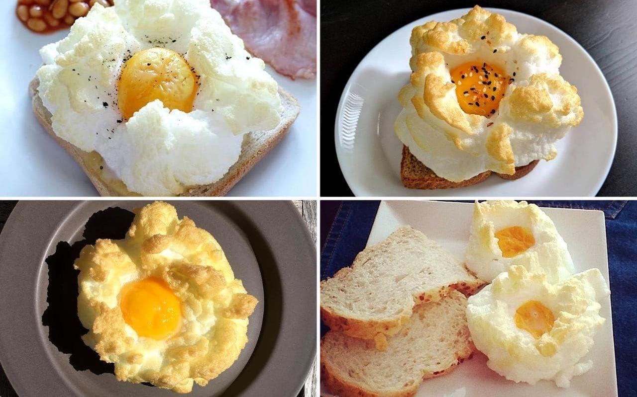 Cloud eggs: Instagram's favourite new food fad | breakfast