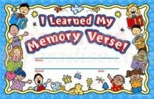 Bible memorization certificates learned my memory verse award bible memorization certificates learned my memory verse award certificates yelopaper Gallery
