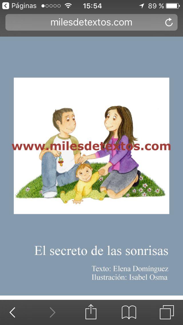 http://www.milesdetextos.com/el-secreto-de-las-sonrisas/  Cuento personalizado