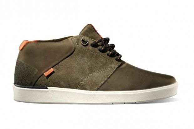 dc99746ff4 Vans LXVI Variable low top shoe - part of the All Weather Terrain Pack - is  water resistant and is designed to stand up to snow and sleet.