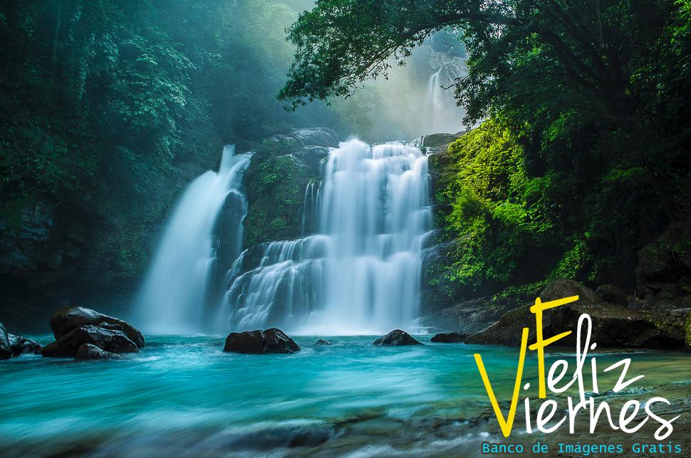 Cascadas De Agua Viva Feliz Viernes Fotos De Cascadas Hermosos Paisajes Cascadas Bonitas
