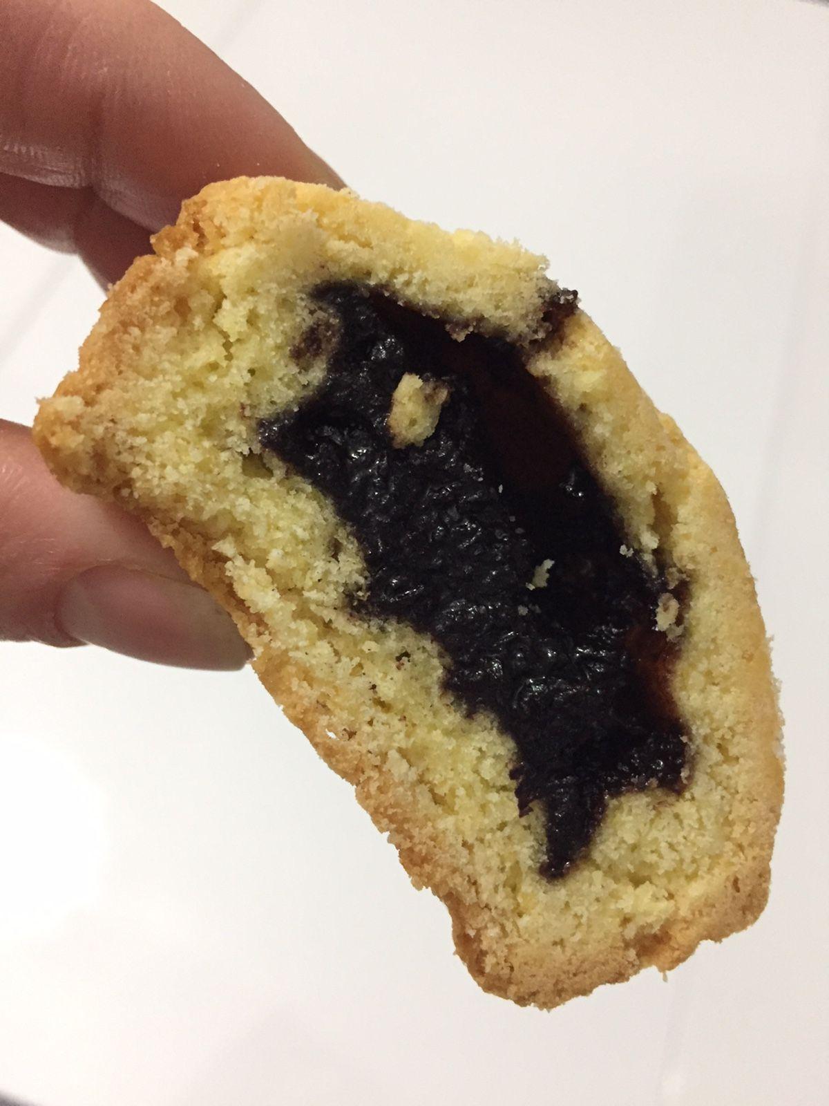 Kleine Kuchen Mit Einer Kostlichen Fullung Mit Marmelade Schokolade