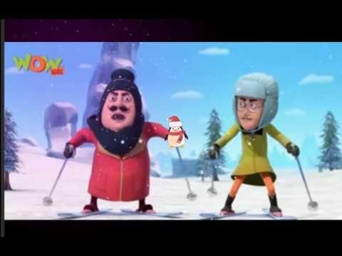 Motu Patlu 3D animation cartoon - Invisible Plane Movie ...