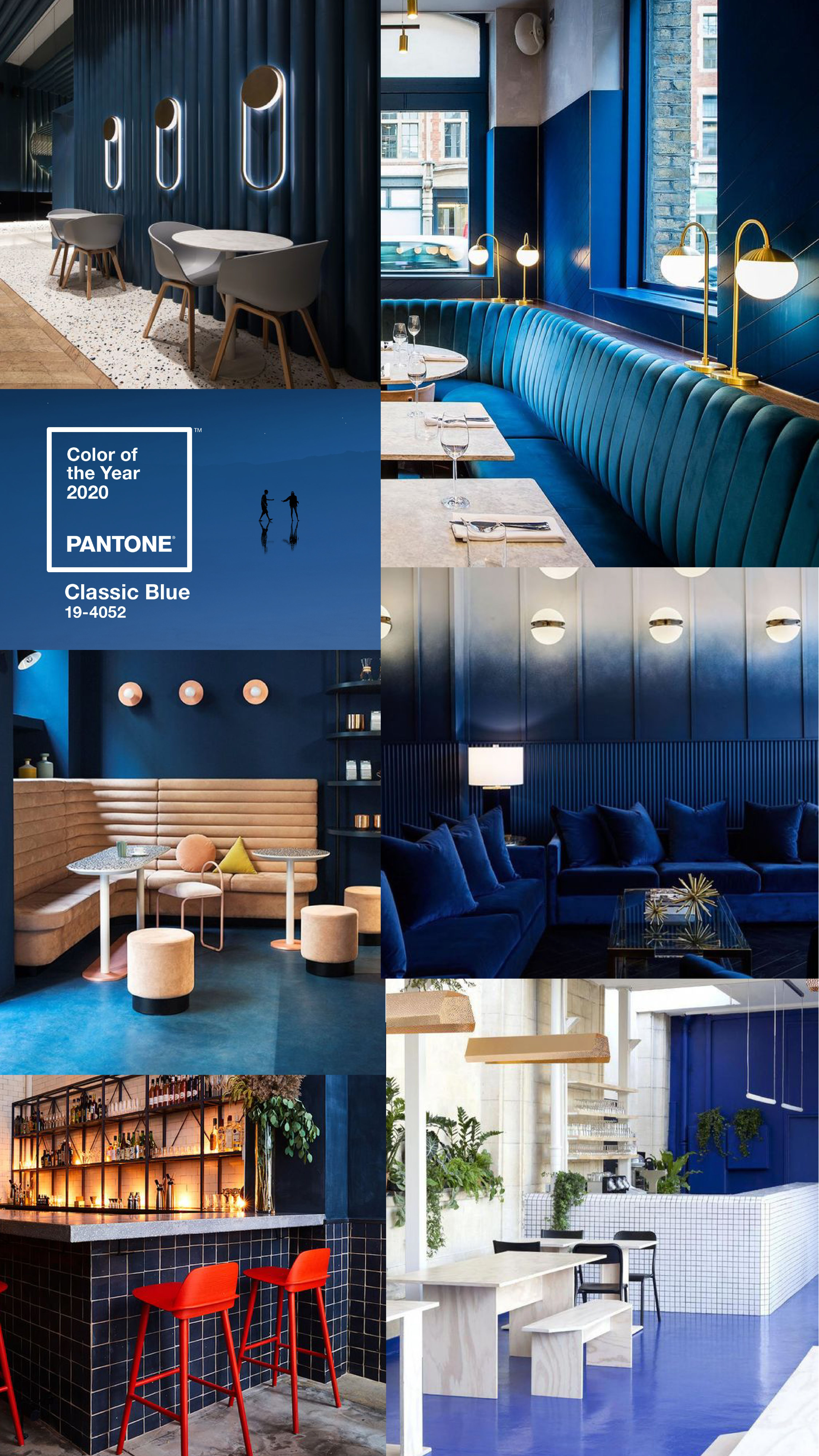 Restaurant Bar And Cafe Interiors Inspired By The Pantone Color Of