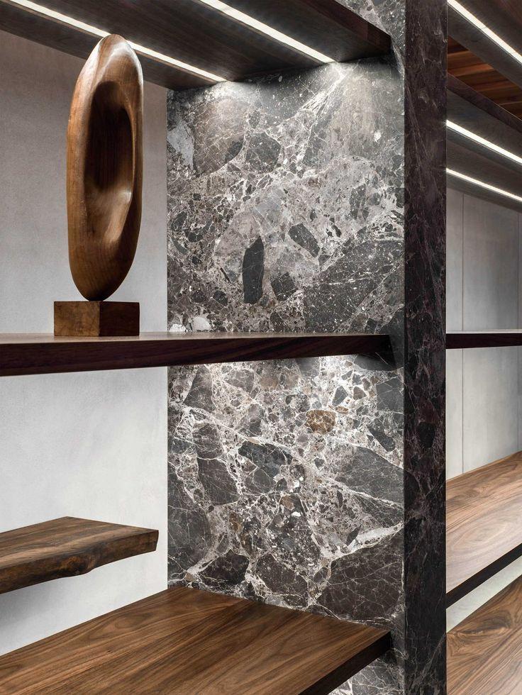 Shelving detail by Christian Halleröd Design - Frame Denim Store in ...