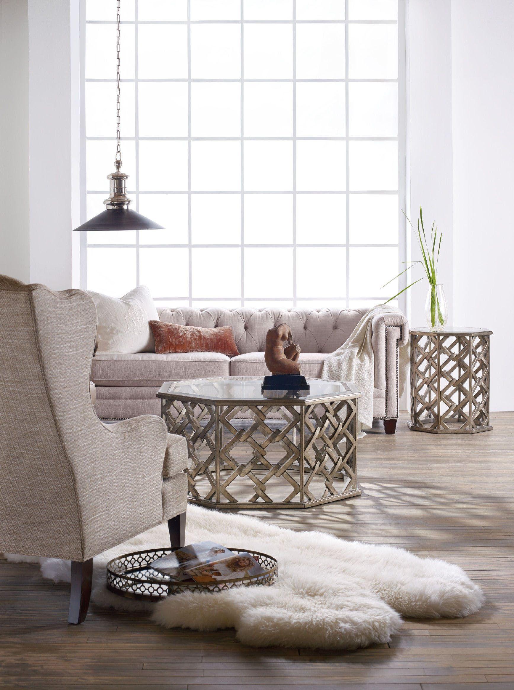 Hooker Furniture Melange Nico Cocktail Table 638 50272