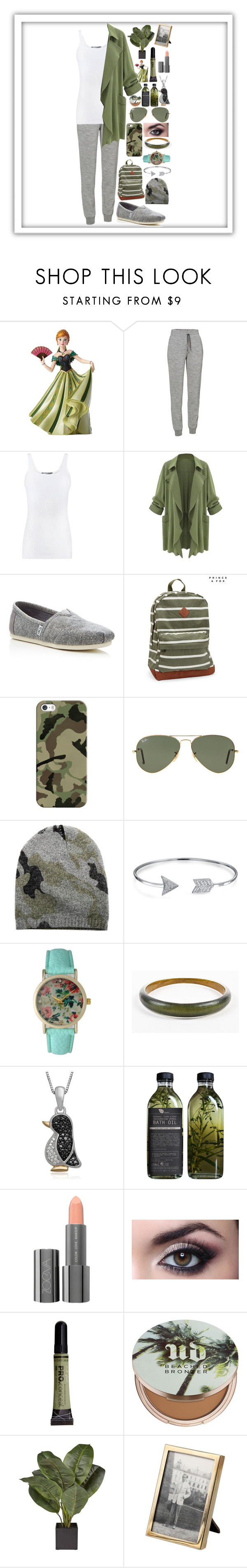 """""""Lazy Day"""" by awesomel4125 ❤ liked on Polyvore featuring Disney, Icebreaker, Vince, TOMS, Aéropostale, Casetify, Ray-Ban, Blue & Cream, Bling Jewelry and Olivia Pratt"""