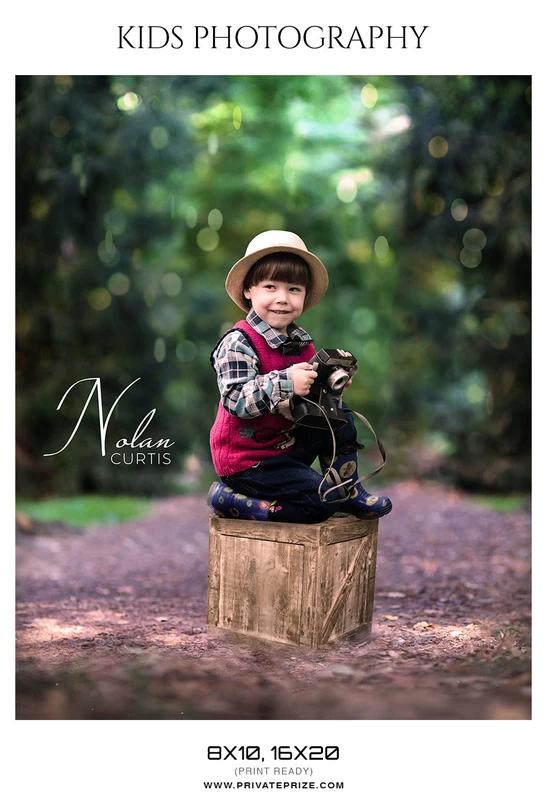 Kids Photography Photoshop Templates