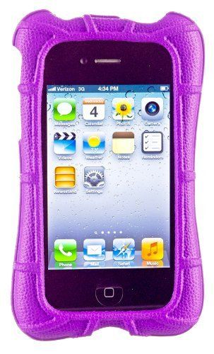 M-Edge Supershell Protective Cover Case for iPhone 4 / 4S - Purple (Abacus 24-7 Velcro Cable Tie Included) by M-Edge. $29.99. M-Edge SuperShell for iPhone 4 & 4s - Grape Purple We took our SuperShell for iPad and sent it through a magical shrinking machine to create a fun miniature version for the iPhone 4/4S! The SuperShell for iPhone 4/4S provides the hardcore protection you need to keep your device safe! The ultra-protective, closed-cell foam wraps around the edges of your iPh...