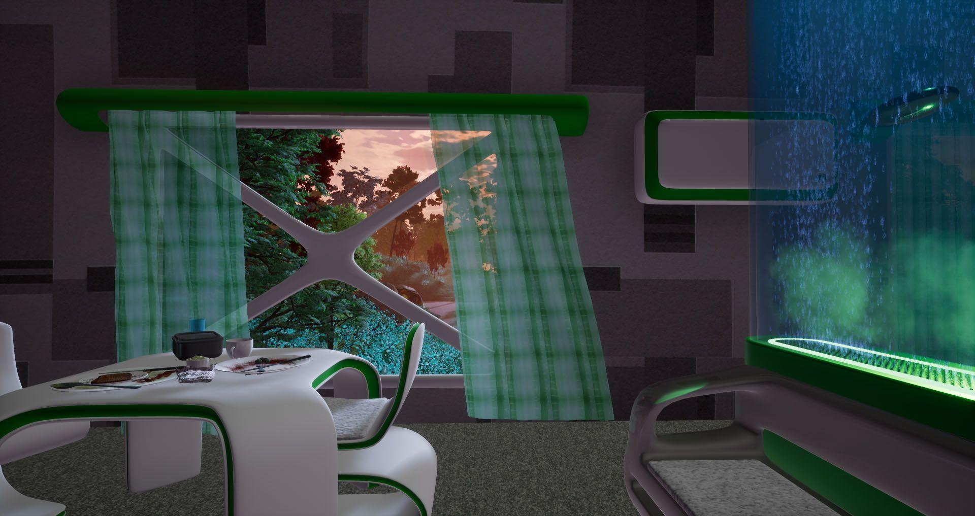 Unreal Engine 4 0 - Photorealism is here, Trinity - Interior