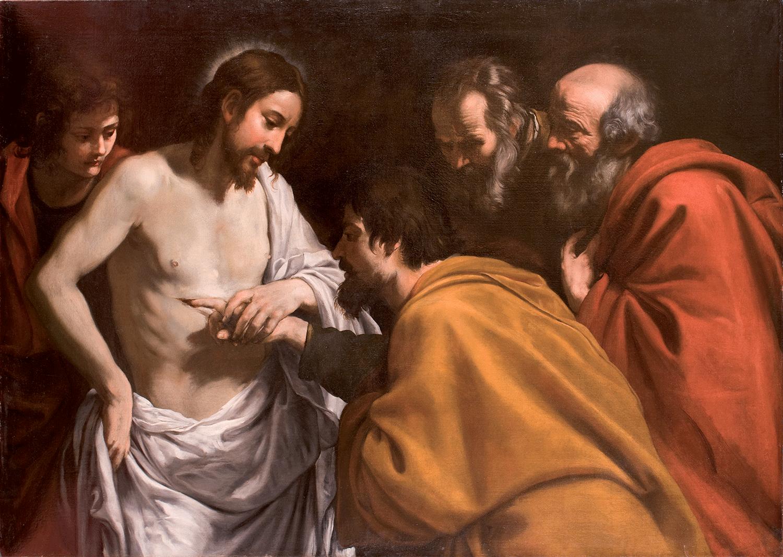 26. Vermiglio, Giuseppe - Incredulità di San Tommaso | Caravaggio ...