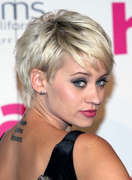I've fantasized about cutting my hair like this (still leaving it dark), but am so afraid I'd regret it.