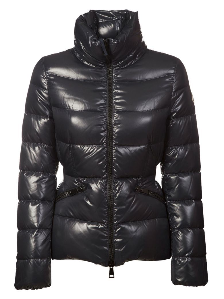 moncler danae high-gloss quilted shell jacket