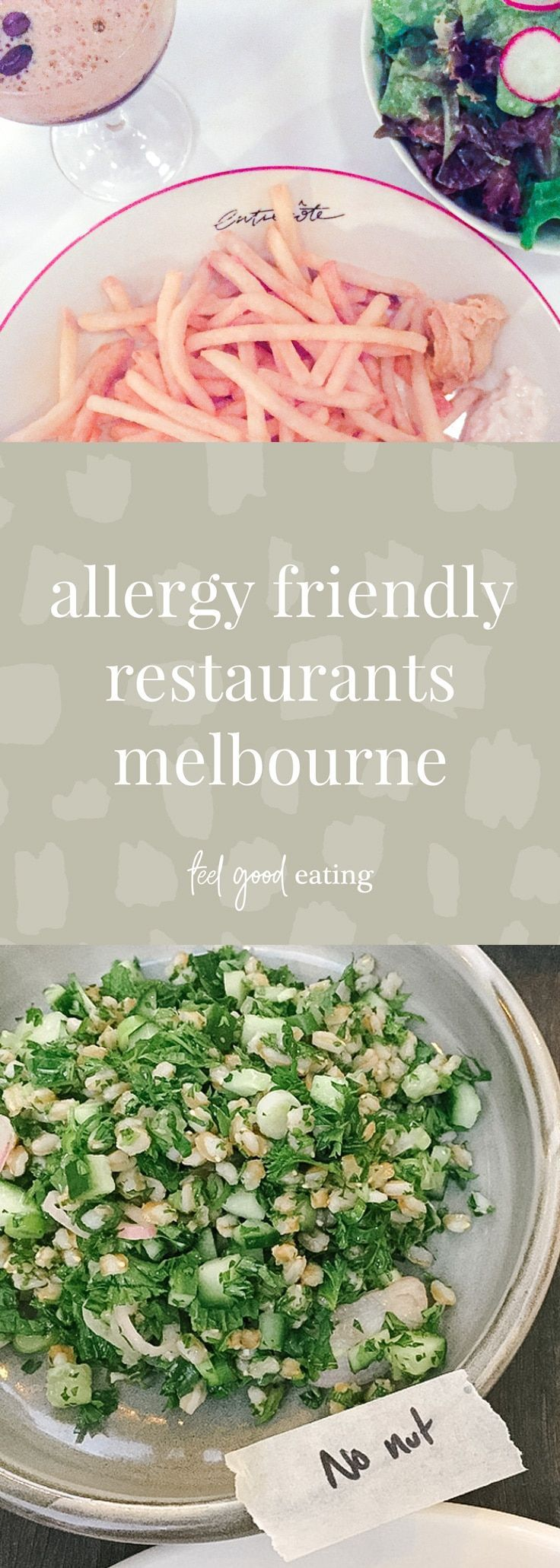 Allergy Friendly Restaurants Melbourne Allergy friendly