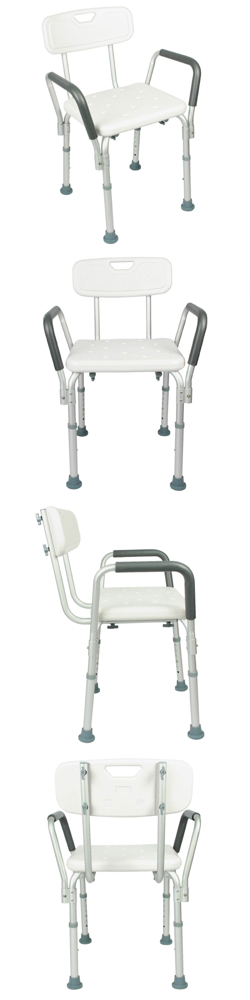 Shower and Bath Seats Shower Chair With Back By Vive Bathtub