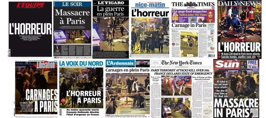 Paris Terror Attack 11-13-15