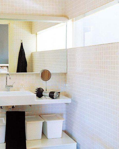 Tragaluz entre baño y otro espacio | Ventanas para baño ...